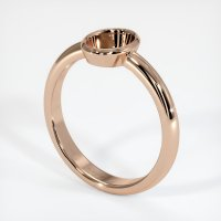 18K Rose Gold Ring Setting - JS963R18