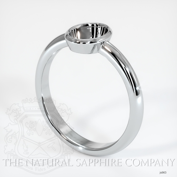 Bezel Set Solitaire Ring Setting JS963 Image