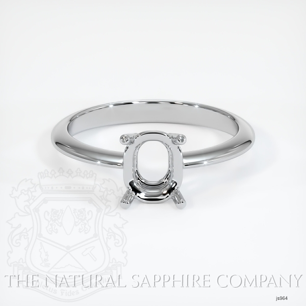 4 Prong Solitaire Ring Setting JS964 Image 2