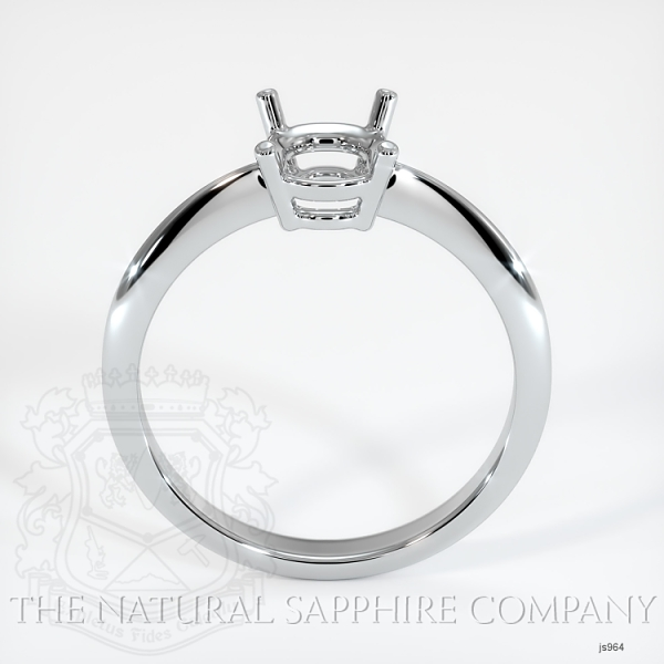4 Prong Solitaire Ring Setting JS964 Image 4