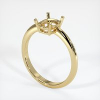 14K Yellow Gold Ring Setting - JS964Y14