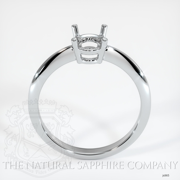 4 Prong Solitaire Ring Setting JS965 Image 4