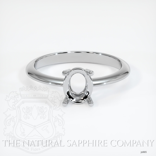 4 Prong Solitaire Ring Setting JS965 Image 2