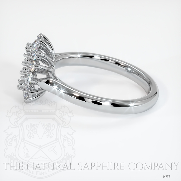 14 Prong Antique Halo Ring Setting JS972 Image 3